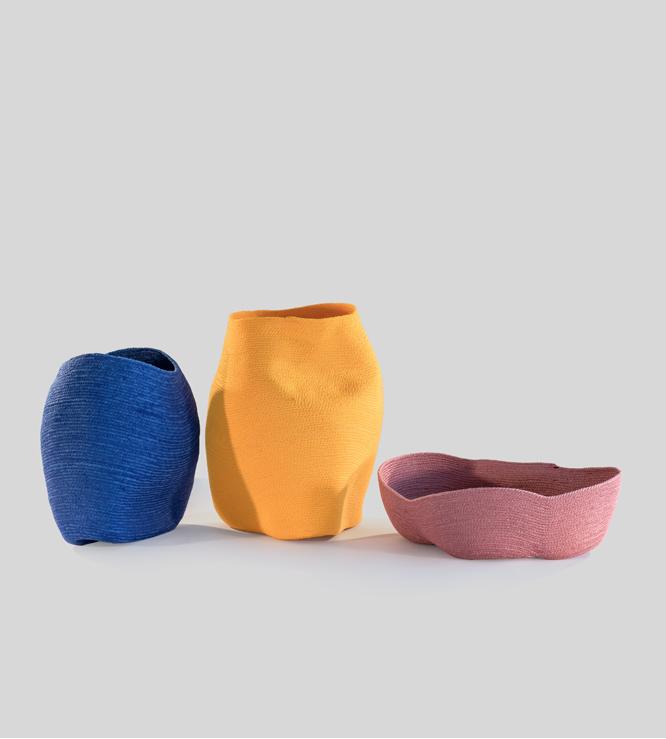 Una cuerda en forma de vasija